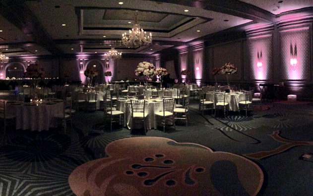Event Lighting Rentals Farmington Hills MI | Affordable Party Lighting - dinner-party